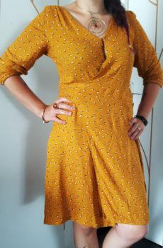 robe-portefeuille-jaune