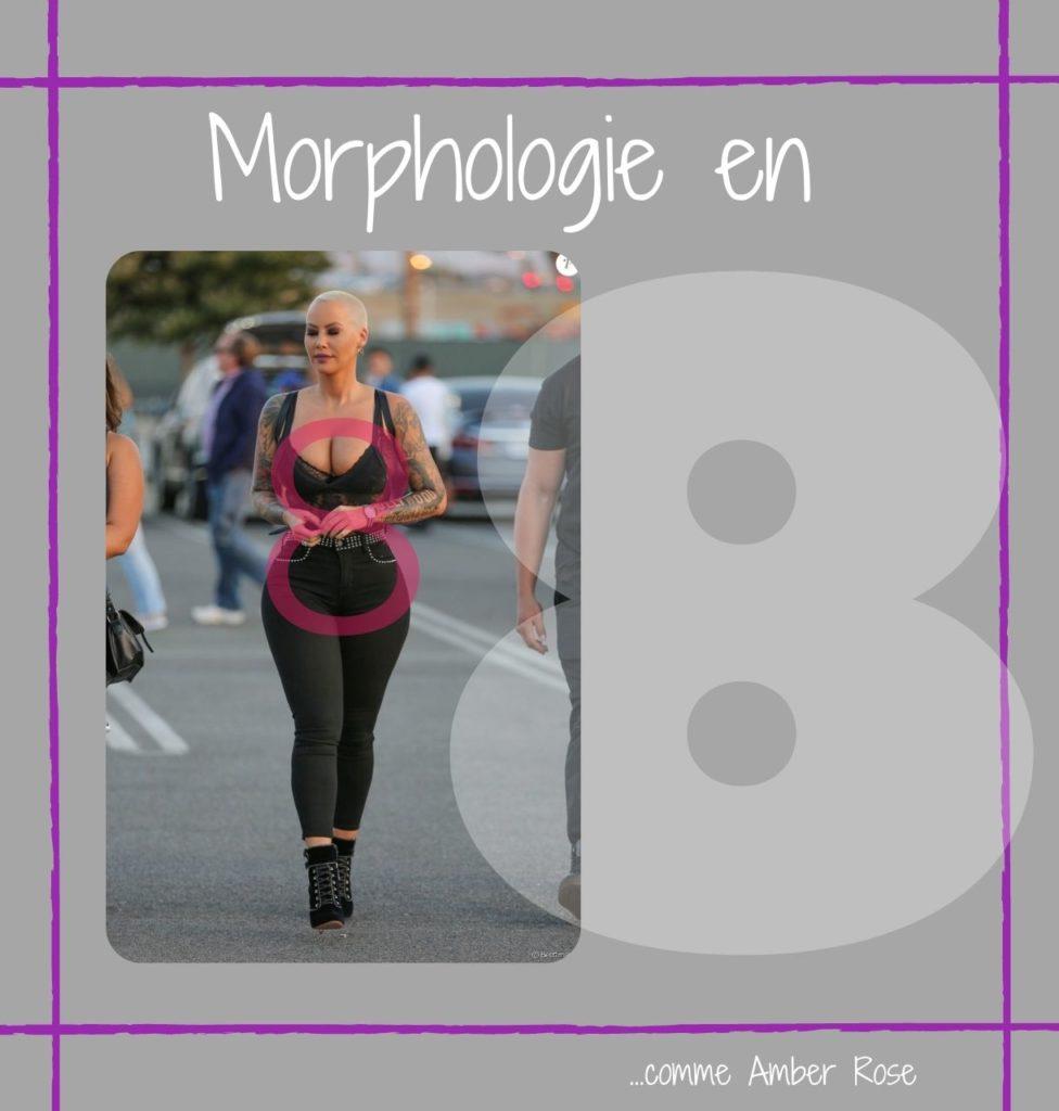 LA MORPHOLOGIE EN 8
